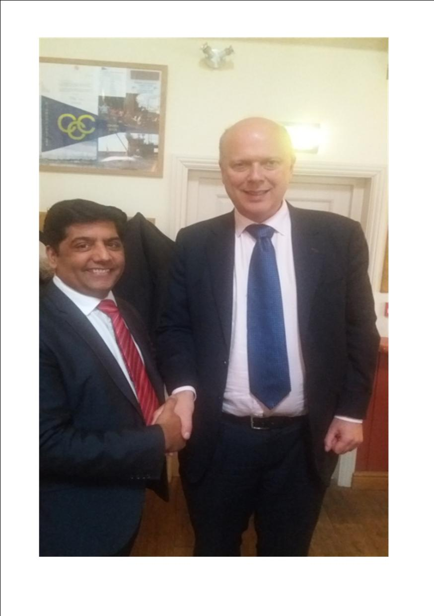 Meeting the Secretary of State for Transport